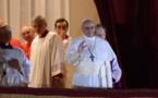 Voici le Nouveau Pape: Le cardinal Jorge Mario Bergoglio, sous le nom de François 1er.