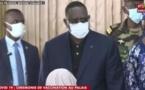"""Macky SALL avertit : """"Si on ne prend pas les vaccins, je vais les donner à d'autres pays africains""""."""