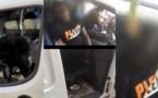 Vidéo : Voici la voiture d'espionnage de la police démantelée devant le domicile de Sonko