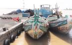 Saint-Louis : une embarcation interceptée avec 16 migrants dont 2 convoyeurs