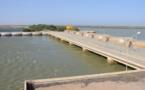 Barrage de Diama : environ 21 milliards de m3 d'eau douce perdus chaque année.