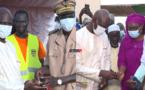 Mansour FAYE inaugure le poste de santé de l'hydrobase et réceptionne du matériel de nettoiement (vidéo)