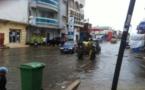 Fortes pluies à Saint-Louis : Plusieurs quartiers sous les flots.