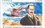 France- Aeropostale: La Poste célèbre Pierre-Georges Latécoère