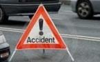 Accident sur la N1 : Un scootériste percuté par un taxi lutte contre la mort