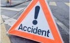 Saint-Louis - Accident sur la RN2 : un motocycliste grièvement blessé par un véhicule.