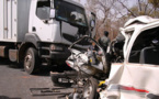 Accident sur la route de Tivaoune : Un bus et un car entrent en collision
