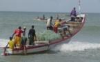 Pris au piège par une houle dangereuse, trois pêcheurs Saint-Louisiens secourus en Guinée Bissao.