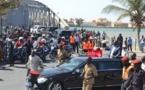 (Vidéo)  Saint-Louis : Une foule en extase accueille Macky au retour de Rosso.