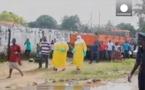 Vidéo-Ebola: Un patient s'échappe d'un centre médical et sème la panique à Monrovia (Libéria)
