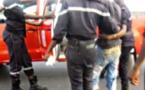 SAINT-LOUIS - Accident au virage de la CIté Vauvert: jeune homme a perdu le contrôle de son scooter.