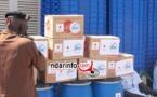 Saint-Louis - Lutte contre Ebola: don de la Jica aux centres de transformation des produits halieutiques.