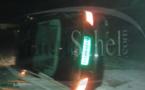 Nouakchott : la voiture de l'ambassadeur du Sénégal accidentée (photos)