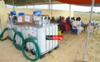 RESPONSABILITÉ SOCIÉTALE DE L'ENTREPRISE : le Cabinet MSA offre des motopompes à trois villages de la Commune de DIAMA.