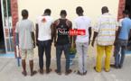 VOLS ARMÉS, AGRESSIONS ET CAMBRIOLAGES : 6 dangereux individus arrêtés à Saint-Louis (VIDÉO)