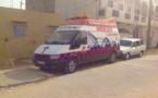 GOXU MBACC : l'ambulance ne roulait plus … faute de batterie.