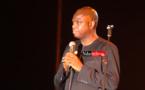 Mansour FAYE sur le podium du Festival, le mercredi 20 Mai 2015