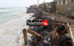 FURIE DES VAGUES : une grossse catastrophe entre Guet-Ndar et Goxu Mbacc. Regardez !