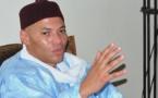"""Première déclaration de Karim WADE: """" J'ai la ferme conviction que le PDS  .... assurer les victoires à venir, notamment lors des prochaines élections législatives"""""""