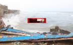 GUET-NDAR : les vagues ont terriblement frappé hier. Regardez !