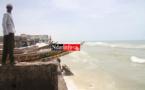ALERTE ROUGE A GUET-NDAR : plusieurs maisons détruites par les vagues, de nombreuses familles sinistrées.