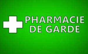 Le calendrier des pharmacies de garde du mois de Janvier 2017
