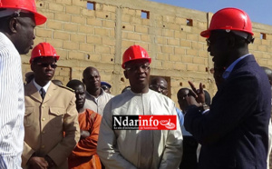 Saint-Louis : Serigne Mbaye THIAM visite les chantiers de l'éducation ( Photos )