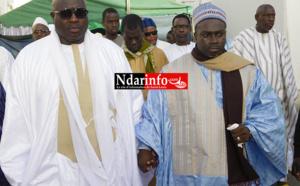 FRATERNITÉ MUSULMANE : la belle convergence entre l'Imam Mouhammedou Abdoulaye CISSE et Serigne Galass Kaltome MBACKE. Regardez !