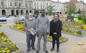 Solidarité internationale : Al Hassane Kebe de l'AVN rencontre les Mussipontains de Terre Africaine en France.