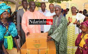 AM JAM au service de l'éducation : Adama GAYE offre 2000 cahiers à l'école Rawane NGOM