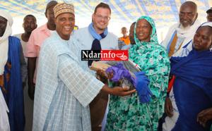 DIAMA : le cadeau de la CASL aux tanneuses du village de RONE (vidéo)