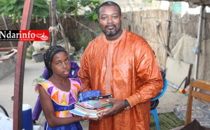 PROMOTION DE L'EXCELLENCE : Amadou François GAYE récompense Mariama CISSOKHO ( photos )
