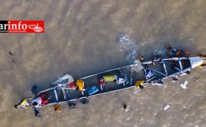 Saint-Louis : Régates de ce samedi, la vidéo inédite ( Vue aérienne )