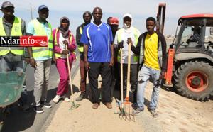 Nettoiement de Saint-Louis : Mansour FAYE lance une opération d'envergure à Ndiolofène, ce matin (vidéo)