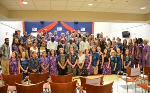 Corps américain de la paix : 51 nouveaux volontaires prêtent serment