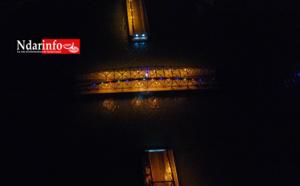 Ouverture nocturne du Pont : Survolez le beau spectacle ! (vidéo)