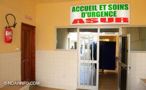 BONNE NOUVELLE : le Centre de Santé de Saint-Louis se dote d'un bloc d'urgence (Photos)