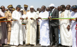 PHOTOS - Inauguration du tronçon Fatick-Kaolack, d'un coût global de 16 milliards 400 millions FCFA