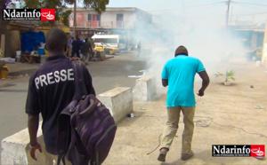 Saint-Louis : Temps forts de la manifestation de l'opposition contre le parrainage (vidéo)