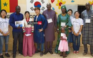 Case des Tout-Petits de DAROU : les mômes découvrent la culturelle Coréenne