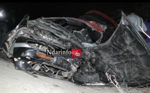 Choc entre deux véhicules : 2 morts et 3 blessés graves à l'entrée de Saint-Louis