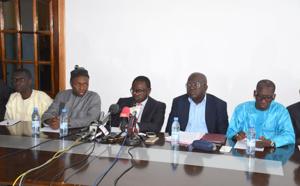 Front de résistance nationale : Haguibou Soumaré et Boubacar Camara intégrés, Malick Ndiaye bloqué