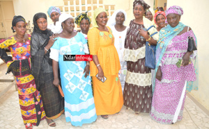 "FASS-NGOM : les Femmes de l'APR demandent ""la réhabilitation administrative"" de Ibrahima DIAO (vidéo)"