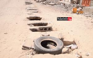 Réseau d'assainissement vétuste de DIAMAGUENE : les jeunes interpellent Mansour FAYE (vidéo)