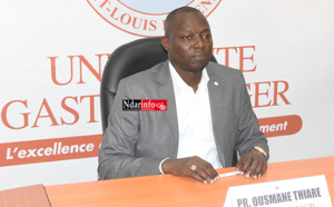 UGB : Ousmane THIARÉ a déposé sa plainte