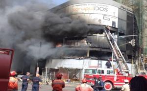 L'immeuble Scrupuldos en ruines : plus de 100 millions en marchandises brûlés