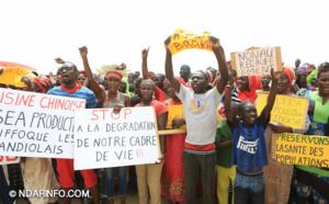 Pollution de l'Usine chinoise de Mbambara : les riverains excédés !