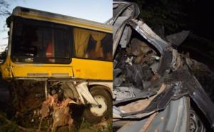 St-Louis : Un accident entre RAO et GANDON fait un mort et plusieurs bléssés