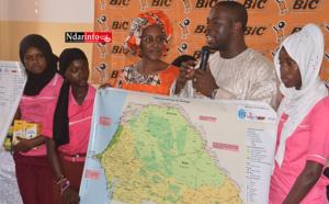 Éducation : des cartes du Sénégal offertes au lycée Ahmet FALL