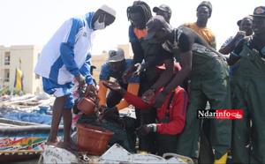 Guet-Ndar : l'UNAPAS indique aux pêcheurs « les gestes qui sauvent » (vidéo)